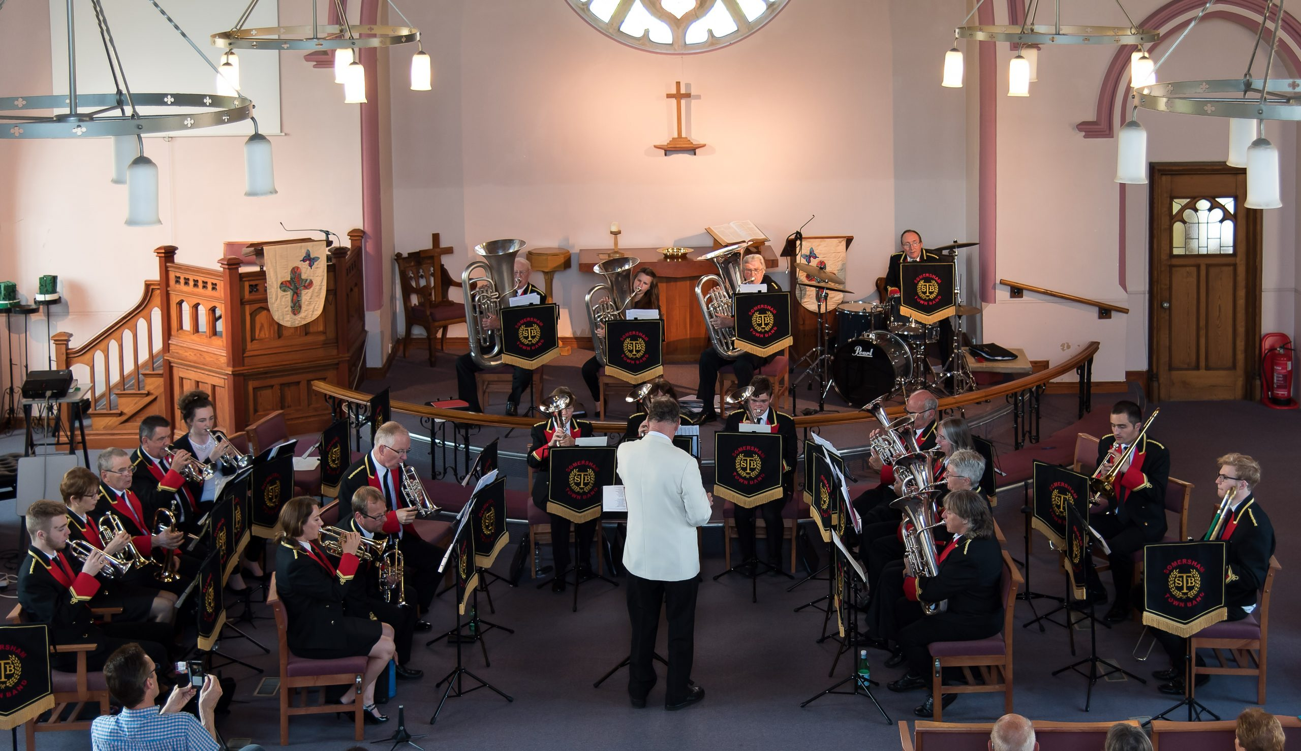 WELCOME TO THE HOME OF THE SOMERSHAM TOWN BAND