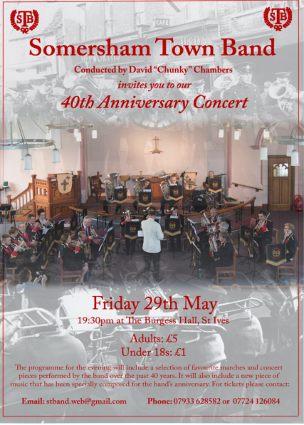 40th Anniversary Concert - Postponed